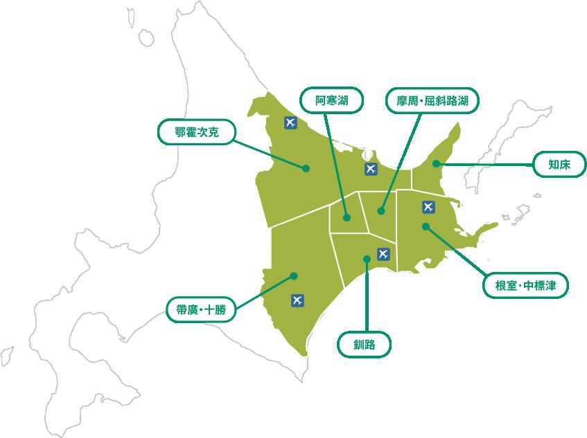 東北海道地圖