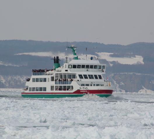 Abashiri Drift Ice Sightseeing & Icebreaker Ship Aurora
