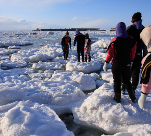 Shiretoko Drift Ice Walk