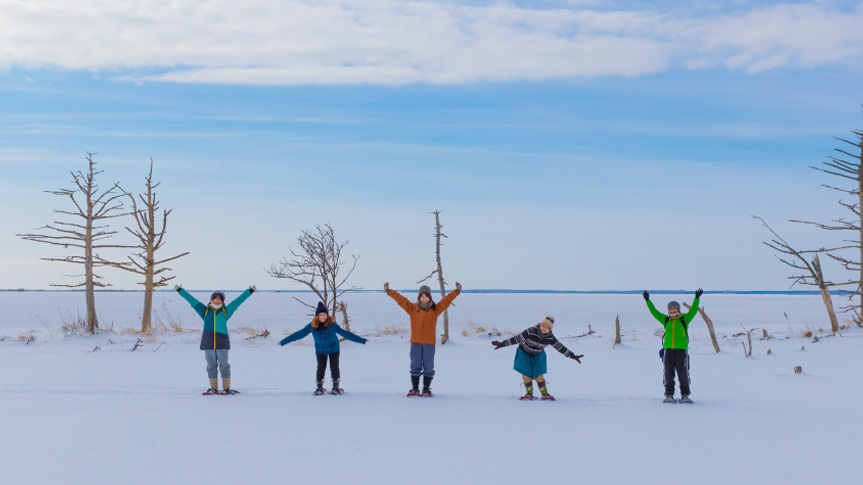 野付半島冰平線行程