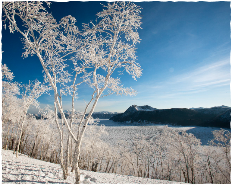 Be mesmerized at the 'Frosted Mists,' a natural work of art during winter! The Mashu Lake, Frosted Mist Tour