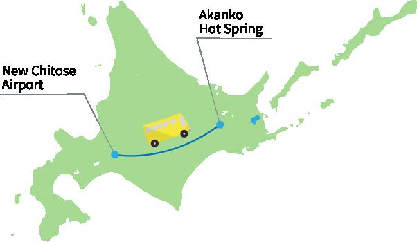 New Chitose Airport - Lake Akan