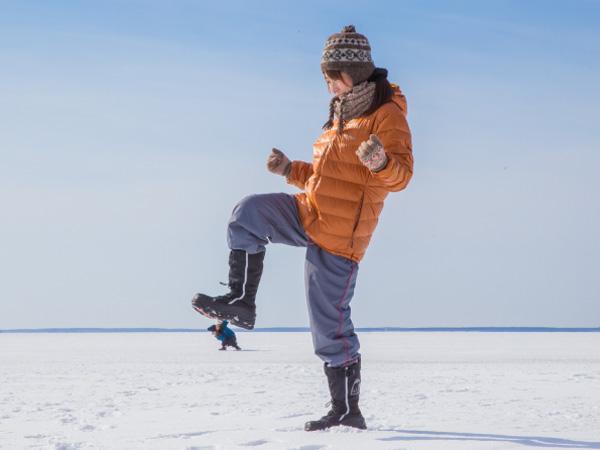 【阿寒湖発ウトロ着】エクスプレスバスで行くべつかい氷平線 日帰り