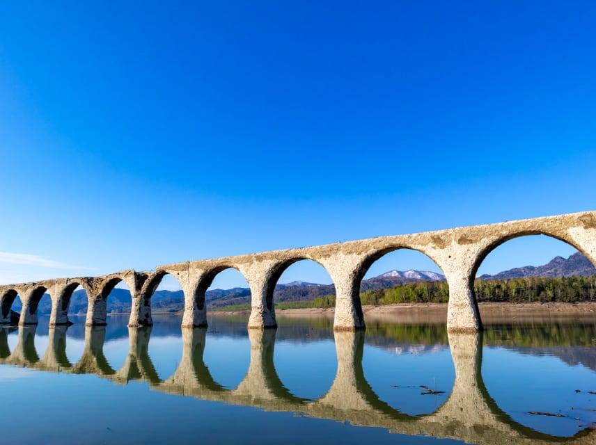 Taushubetsu Bridge (concrete arch bridge)
