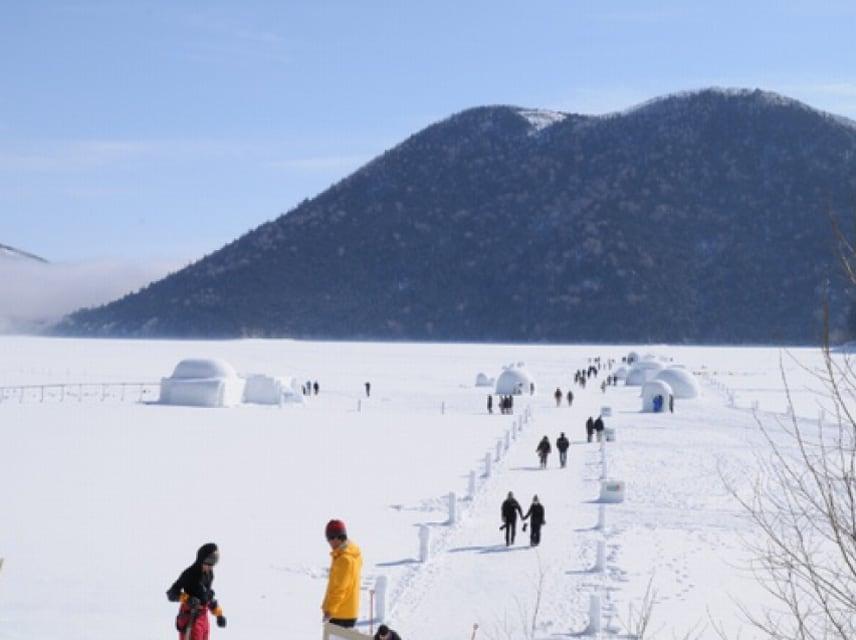 Lake Shikaribetsu and Lake Nukahira