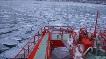 【網走発着】ガリンコ号Ⅱにのって流氷を楽しむ!流氷船+エクスプレスバス往復+紋別宿泊付コース