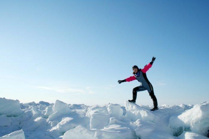 【釧路発網走着】凍った湖や流氷の上をあるく!阿寒湖ウォーク・流氷ウォークと流氷船乗船!阿寒湖&知床ウトロ2泊3日