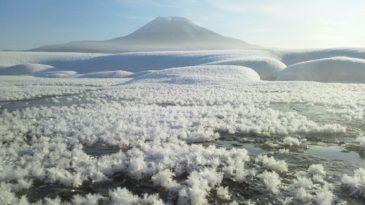【帯広発ウトロ着】ジュエリーアイスとフロストフラワー 阿寒・摩周湖めぐり2日間