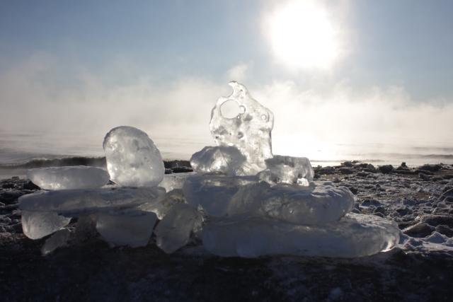 【ウトロ発帯広着】別海・氷平線とジュエリーアイス 阿寒湖泊2日間
