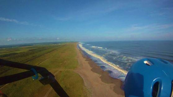 パラグライダー タンデム遊覧飛行