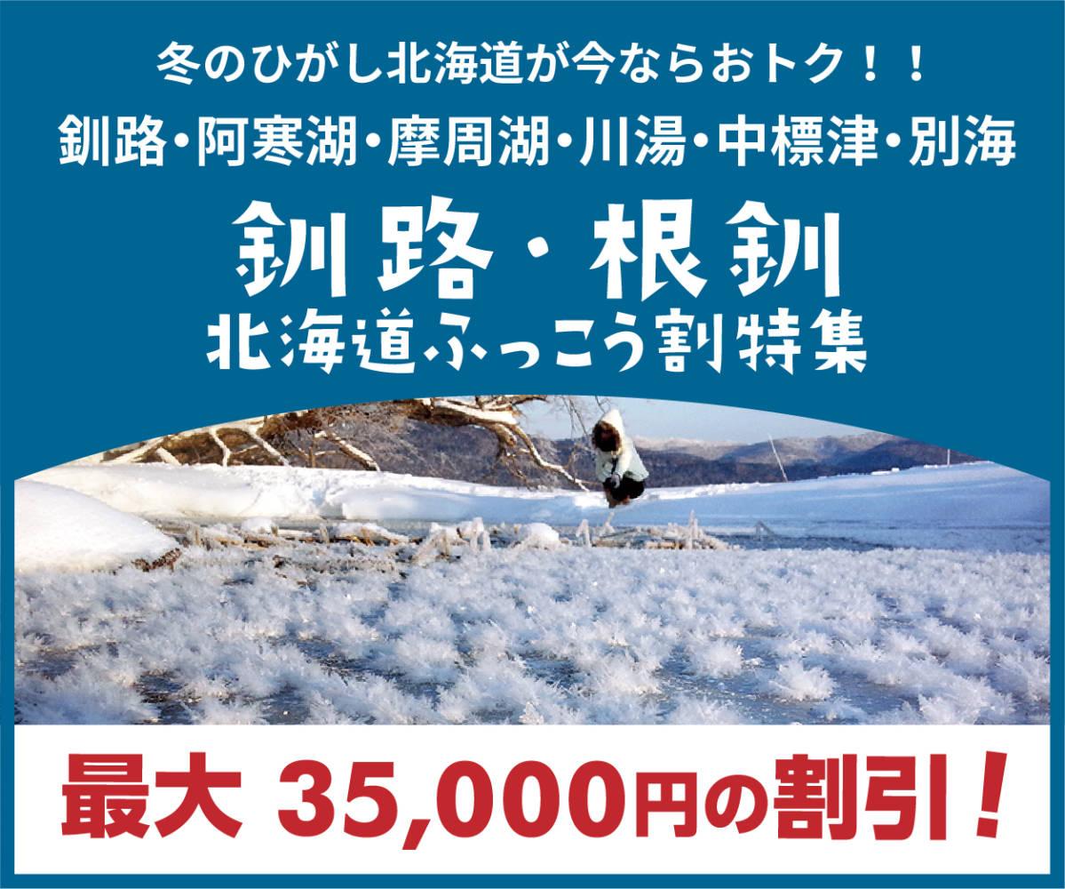 釧路・根室 北海道 ふっこう割特集