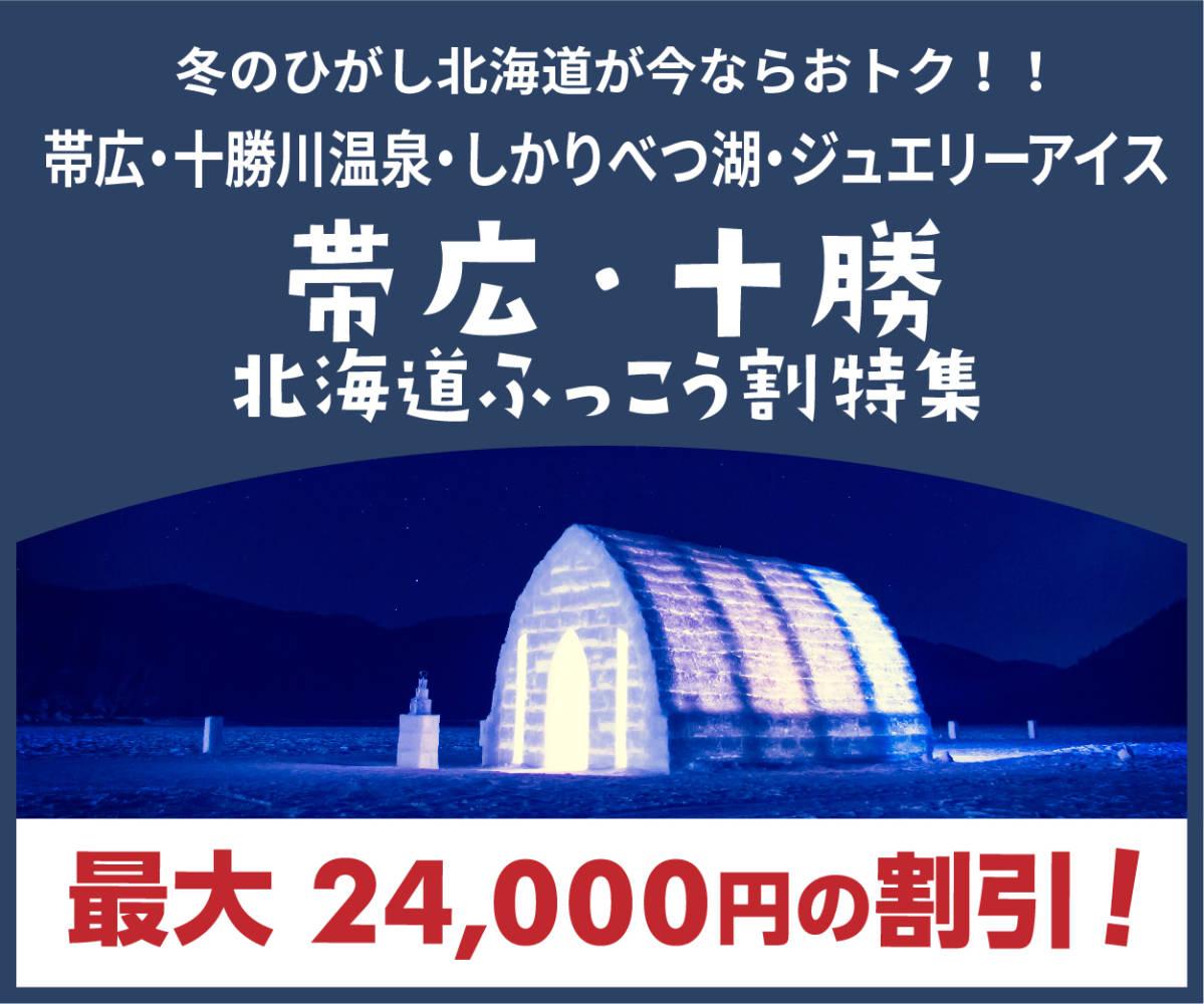 帯広 北海道 ふっこう割特集