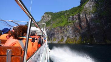 憧れの知床岬クルーズ乗船☆船上から楽しむ世界自然遺産「知床」の絶景☆