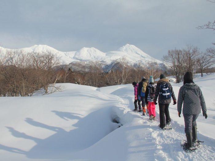 【知床】冬の知床五湖ツアー
